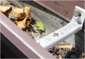 Seaside Home Inspection nailed gutter